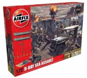 Airfix A50156A Gift Set - D-Day 75th Anniversary Sea Assault - 1:72