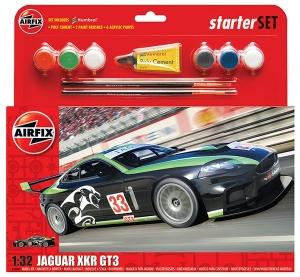 Starter Set - Jaguar XKR GT3 Fantasy Scheme 1:32