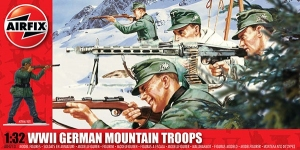WWII German Mountain Troops 1:32