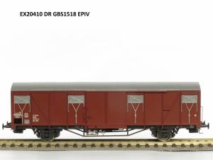 Exact-Train EX20410 Wagon towarowy kryty Gbs 1518, DR, Ep. IV