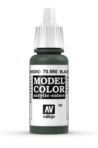 Vallejo 70980 Model Color 70980 100 Black Green