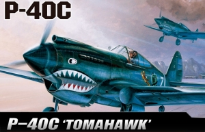 P-40C Tomahawk 1:48
