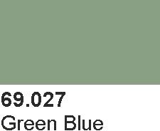 Vallejo 69027 Mecha Color 69027 Green Blue