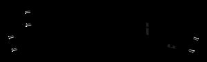 Zwrotnica łukowa lewa R438 mm, 22,5st. & 33,75st.