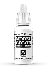 Vallejo 70951 Model Color 70951 1 White