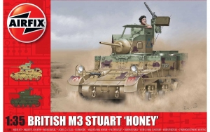 Airfix A1358 M3 Stuart Honey (British Version) - 1:35