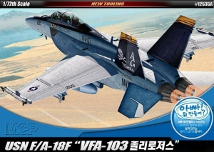 Academy 12535 F/A-18F U.S. Navy VFA-103 Jolly Rogers 1:72