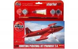 Starter Set - Hunting Percival Jet Provost T3 1:72