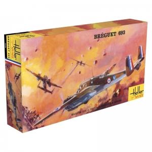 Heller 80392 Breguet 693 AB2