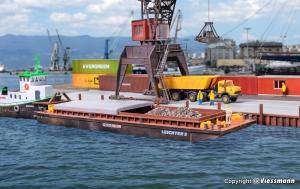 Kibri 38522 H0 Barka transportowa
