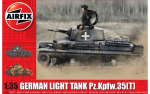 Airfix A1362 German Light Tank Pz.Kpfw.35(t) - 1:35