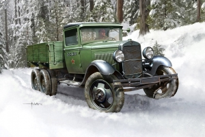Hobby Boss 83837 Samochód ciężarowy GAZ-AAA - 1:35