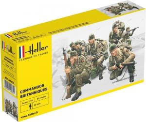 Heller 49632 Figurki - Komandosi brytyjscy - 1:72