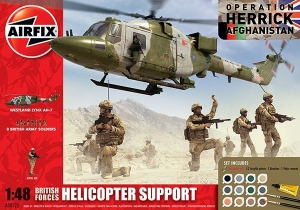 Airfix A50122 Gift Set - British Army Helicopter Support 1:48
