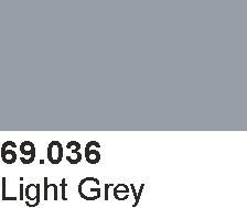 Vallejo 69036 Mecha Color 69036 Light Grey