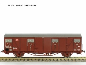 Exact-Train EX20413 Wagon towarowy kryty Gbs 254, DB, DB AG, Ep. V