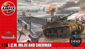 Airfix A03301 LCM and Sherman 1:76
