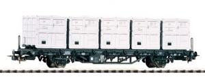 Wagon platforma BT 91, DR , Ep. III