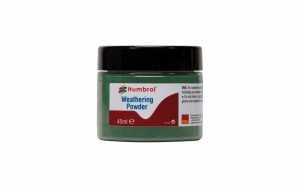 Humbrol AV0015 Pigment Weathering Powder 45 ml Chrome Oxide Green