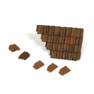 Vallejo SC230 Diorama Accessories Uszkodzony dach i dachówki 1:35