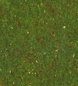 Heki 30801 Mata trawa z kwiatami 40x24 cm