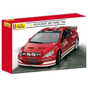 Heller 80753 Peugeot 307 WRC 2004 1:24