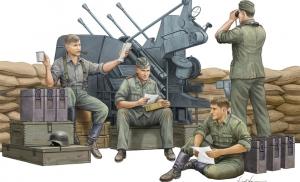Trumpeter 00432 Figurki - Obsługa niemieckiego działka przeciwlotniczego - 1:35