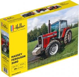 Heller 81402 Traktor Massey Ferguson 2680 - 1:24