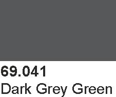 Vallejo 69041 Mecha Color 69041 Dark Grey Green
