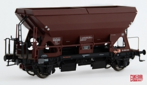 Exact-Train EX20061 Wagon samowyładowczy Otmm 52 z hamulcem ręcznym Nr. 21 80 540 0 251-2, DB, Ep. IVa