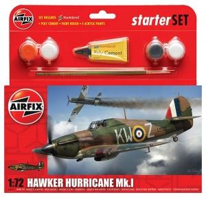 Starter Set - Hawker Hurricane Mk1 1:72