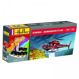 Heller 56485 Starter Set - Ecureuil Bombardier D'Eau - 1:48
