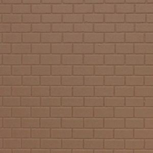 Płytka modelarska 20x12 cm - Mur ceglany
