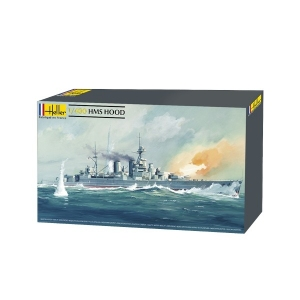 Heller 81081 Krążownik HMS Hood - 1:400
