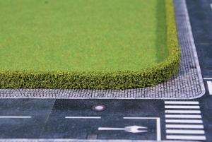 Żywopłot zielony 25 x 7 mm, 2 szt.
