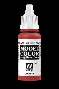 Vallejo 70957 Model Color 70957 31 Flat Red