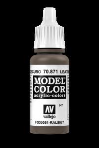 Vallejo 70871 Model Color 70871 147 Leather Brown