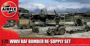 WWII RAF Bomber Re-Supply Set 1:72