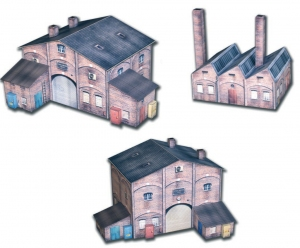Citiline - Zabudowania fabryczne - zestaw