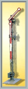 Viessmann 4503 Semafor 2-ramienny, sygnał Hp0, Hp1, Hp2