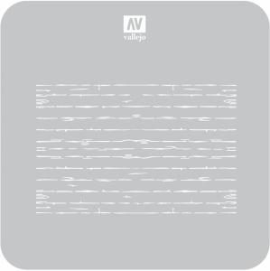 Vallejo ST-TX006 Szablon Wood Texture nr 1, 1:35