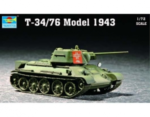 Trumpeter 07208 T-34/76 Model 1943 - 1:72