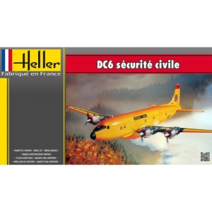 Heller 80330 DC6 Securite Civile
