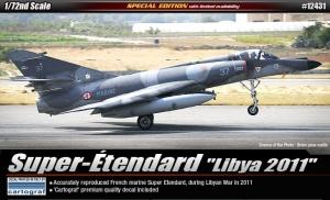 Academy 12431 Super Etendard, Libia 2011, 1:72