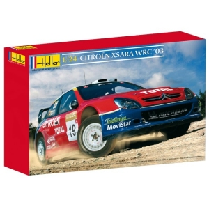 Heller 80751 Citroen Xsara WRC 2003 1:24