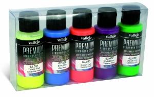 Vallejo 62102 Zestaw Premium RC Color 5 farb - Fluo Color
