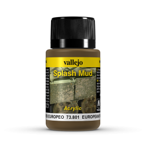 Vallejo 73801 Splash Mud 40 ml. European Mud