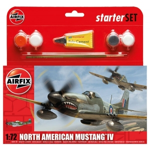 Starter Set - North American P-51D Mustang 1:72