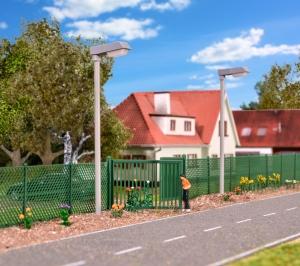 Kibri 38603 H0 Ogrodzenie z zielonej siatki, dł. 280 cm