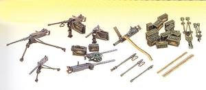Academy 13262 U.S. Machine Gun Set